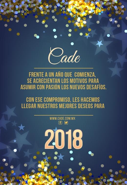 Agradecimiento CADE 2018