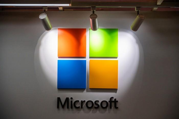 American multinational technology company, Microsoft logo